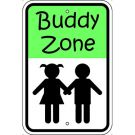 Buddy Zone with Symbol Sign