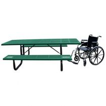 Comfort™ Series Wheelchair Accessible Rectangular Picnic Tables