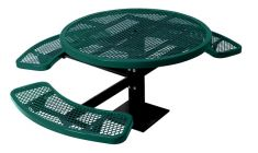 The City™ Series Round Pedestal ADA Picnic Tables
