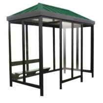 Aluminum Hip End Roof Shelters