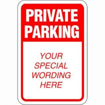 Private Parking Semi-Custom Sign