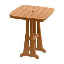 Sunshine Square Bar Height Table