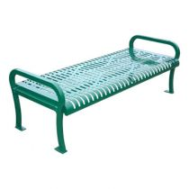 Plastic Coated Outdoor Backless Benches