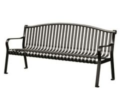 Northgate Bench with Arched Back