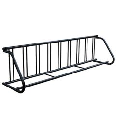Traditional Powder-Coated Bike Racks