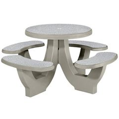 Commercial Concrete Round Tables