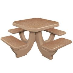 Commercial Concrete Square Tables