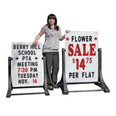 Portable A-Frame Signs