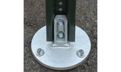 Surface Mount U-Channel Breakaway Sign Post Couplers