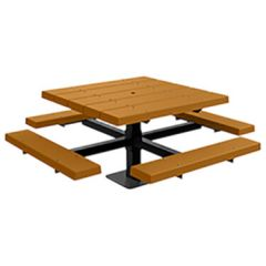 BarcoBoard™ Square Pedestal Picnic Tables
