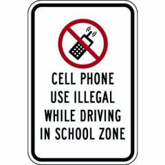 Cell Phone Use Illegal While Driving In School Zone