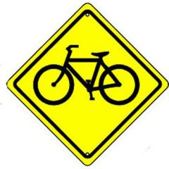 Bike Crossing Sign