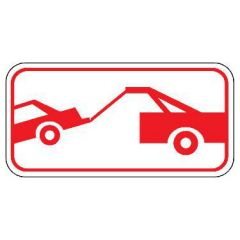 Car Being Towed Symbol Sign