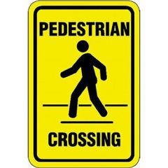 Pedestrian Crossing Sign