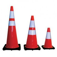 Heavy-Duty Black Base Cones