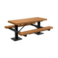BarcoBoard™ Double Pedestal Picnic Table